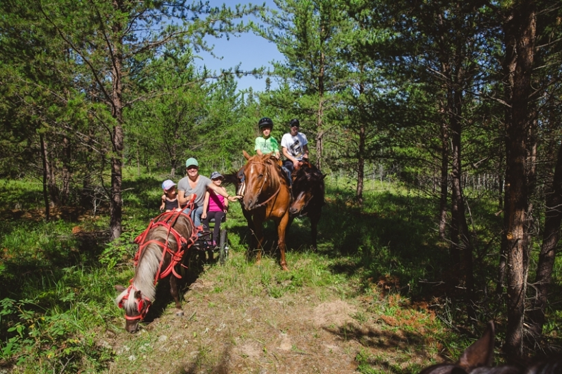 Leaning Tree Trail Rides - 2017